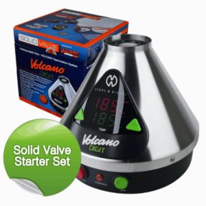 Volcano Vaporizer Digit, Easy-Valve-Set, Waage, Mahlwerk, Tüte im Käuter Vaporizer Test